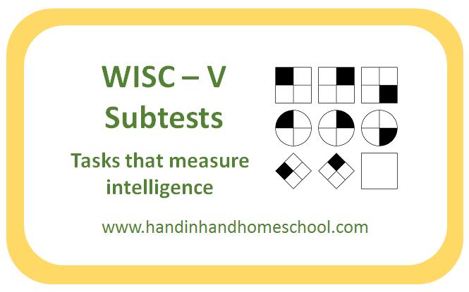 WISC-V Subtest