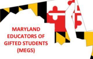 Maryland Educators of Gifted Students logo
