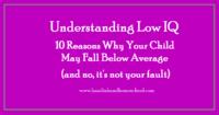 Understanding Low IQ