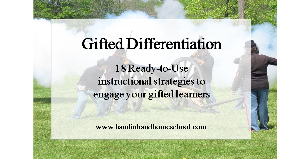 gifted differentiation